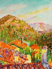 Gouache/Papier, 56x42 cm, 2014